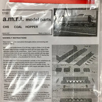 A.M.R.I.: CHS COAL HOPPER BODY & PARTS HO KIT WITHOUT BOGIES of the N.S.W. RAILWAYS
