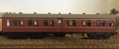 Casula Hobbies: RTR BR 1365 Indian Red Single Car