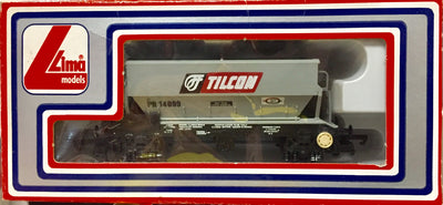 2H: LIMA OO 305638W TILCON Hopper NEW CONDITION 2nd HAND ; HORNBY COUPLERS N017
