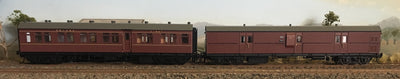 Casula Hobbies: RTR CR+EHO Car Set: CR57+EHO1459 Indian Red