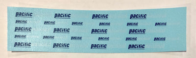 SK215 PACIFIC NATIONAL LOGO THE BLUE & WHITE VERSION DECAL