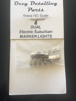 Marker light #28 Ozzy Brass : Marker Lights Dual Electric type for Suburban Cars #28