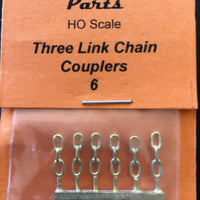M. Ozzy Brass : HOOK, 3 link Chain Couplers #39