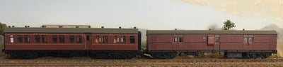 Casula Hobbies: CR+EHO Car Set: CR1375+EHO1462 Indian Red