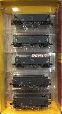 FCH Coal Hopper NSWGR Grey in the late 1060's 0nwards. 5 CAR PACK GOPHER MODELS N ScalE.