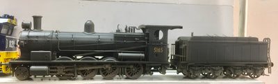 5165 Eureka Models D50: Locomotive 5165 NON SOUND Beyer- Peacock Superheated weathered black DC NSWGR