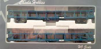 RRP: $150 Save $15: Casula Hobbies: BNX 2 Car Carriers pack Blue, Ready to Run Models. *