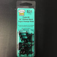 "#531 Code 88 36"" Ribbed Back: Freight & Passenger Wheels"
