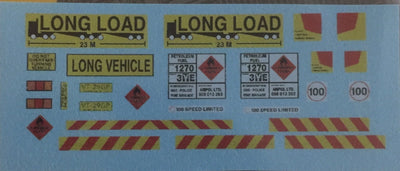 SK 94 DECAL 1/18 th SCALE TRUCK DECALS