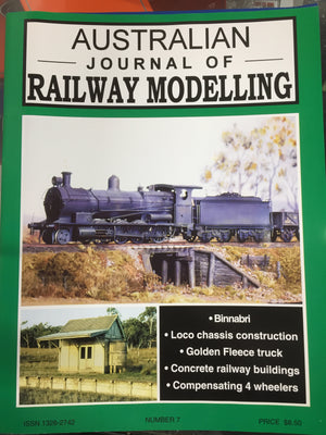 S. JOHNSON ; No9 Australian Journal of Railway Modelling No. 9 AJRM