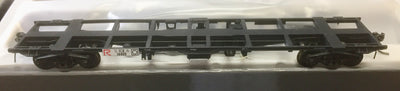 R.T.R. ICX 14469 CONTAINER WAGON BLACK  NSWGR SDS MODELS HO.
