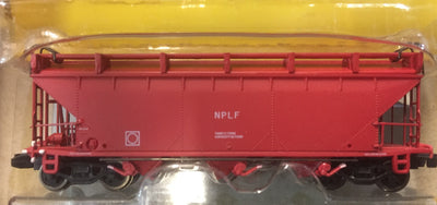 NPLF Cement Hopper NSWGR Red, 1982 onwards. SINGLE HOPPER, GOPHER N Scale Model