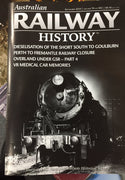 BOOKS ; Magazine ; AUSTRALIAN RAILWAY HISTORY, SEPTEMBER 2019 Vol, 70 no 983