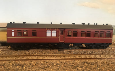 0010 RFR - RRP $150 save $15: RFR 2nd CLASS PASSENGER CAR INDIAN RED FROM THE R Type Sets Casula Hobbies RTR*