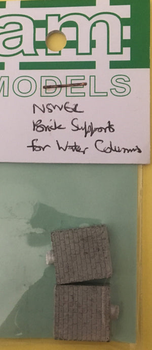 AM Models : WS06 NSW BRICK SUPPORT FOR WATER COLUMN METAL KIT AM MODELS