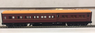 AB91 Eureka Models : AB 91 DINING CAR INDIAN RED : NSWGR 12 Wheel Passenger 72.6 Car Series .