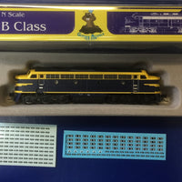 1. Vic Railways B Class blue LOCOMOTIVE, GOPHER MODEL N Scale.