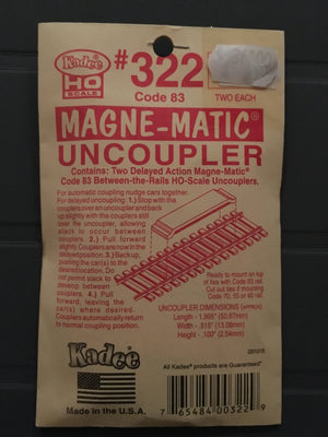 #322 Permanent Magnet delayed Uncoupler Code 83 (HO)