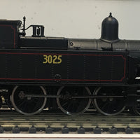 3025 - Austrains: NSWGR C30 Tank locomotive without headlight  #3025  :DISCOUNT-SPECIAL PRICE $450 ONE ONLY    R.R.P.$595.