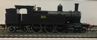 3025 - Austrains: NSWGR C30 Tank locomotive without headlight  #3025  :DISCOUNT-SPECIAL PRICE $450 Sale to end soon R.R.P.$595.