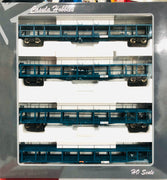 Casula Hobbies: Car Carriers NMNX Pk7  with 4 Car carriers  Blue Set  RRP $300 SPECIAL $200