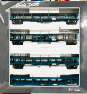 CAR CARRIER: Casula Hobbies: Car Carriers NMNX Pk7  with 4 Car carriers  Blue Set  RRP $300 SPECIAL $200