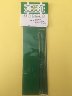 AM Models : SG4 N/SILVER ETCHED NSWGR SIGNALLING LADDER