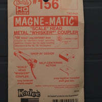 # 156 Kadees long scale head WHISKER Couplers