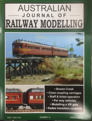 S. JOHNSON ; No12 Australian Journal of Railway Modelling No. 12 AJRM