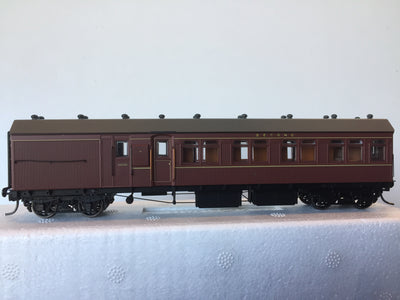 Casula Hobbies: RTR HR Un-Coded Terminal Passenger Brake, Indian Red (Single R Car).