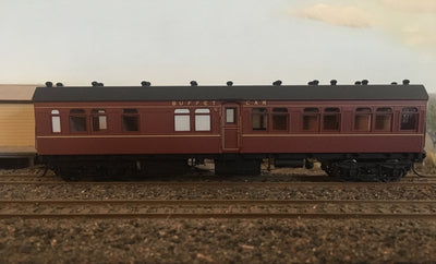 0011 RFR - RRP $150 save $15: RFR781 2nd CLASS BUFFET CAR INDIAN RED FROM THE R Type Casula Hobbies: RTR*