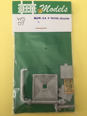 "AM Models : WS07 NSWGR 9"" WATER COLUMN WITH BRICK SUPPORTS METAL KIT"