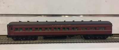 4. MAL 614 INDIAN RED Eureka Models : SLEEPING CAR NSWGR 12 Wheel Passenger 72'.6
