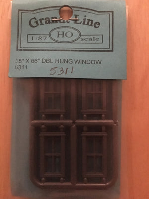 WINDOWS #5311 Window 4 Panel Double Hung 36