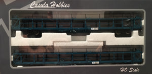 Casula Hobbies: Car Carriers: NMNY 34587,34595 : Pk5. 4 Code 1988: 2 Cars Blue Set