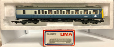 2H: Lima : BRITISH RAIL W51332 COACH  (new MINT condition) with #305149W HORNBY COUPLERS 2nd Hand
