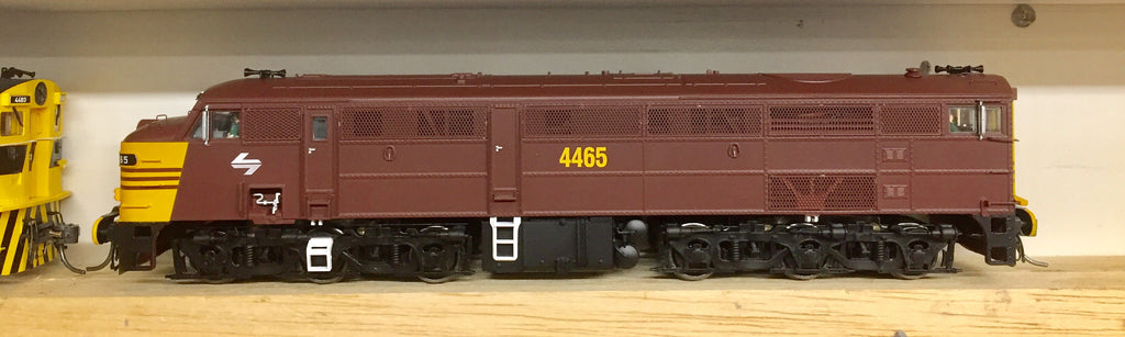 TrainOrama's 44 Class  4465 Rev-Yellow HO NEW MODEL JUST IN.