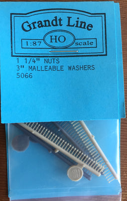 "Nuts, Bolts & Washer 5066 GRANDT LINE 1.1/4"" - 3"