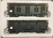 MLV: Casula Hobbies RTR: MLV MILK GOODS VAN NSWGR TWIN PACK MLV21137 & MLV21182. Ready to Run Models SPECIAL $125