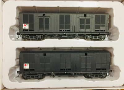 Casula Hobbies RTR: MLV MILK GOODS VAN NSWGR TWIN PACK MLV21137 & MLV21182. Ready to Run Models
