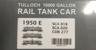 1950 SHELL, COR SDS Models: 10000 Gallon Rail Tank Car:  1950 Pack E