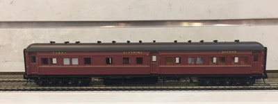 ACS922 Eureka Models : ACS 922 COMPOSITE SLEEPING CAR INDIAN RED NSWGR 12 Wheel Passenger 72.6 Car Series.