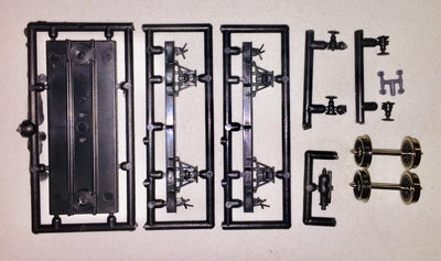 KITBASH 4 WHEEL 10ft UNDERFRAME FROM CAMCO KITS