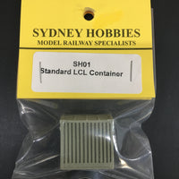 SH 01 Sydney Hobbies NSWGR STANDARD LCL CONTAINER un-painted (1)
