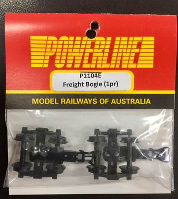 P1104E POWERLINE Parts  Freight Bogie 1 pr.