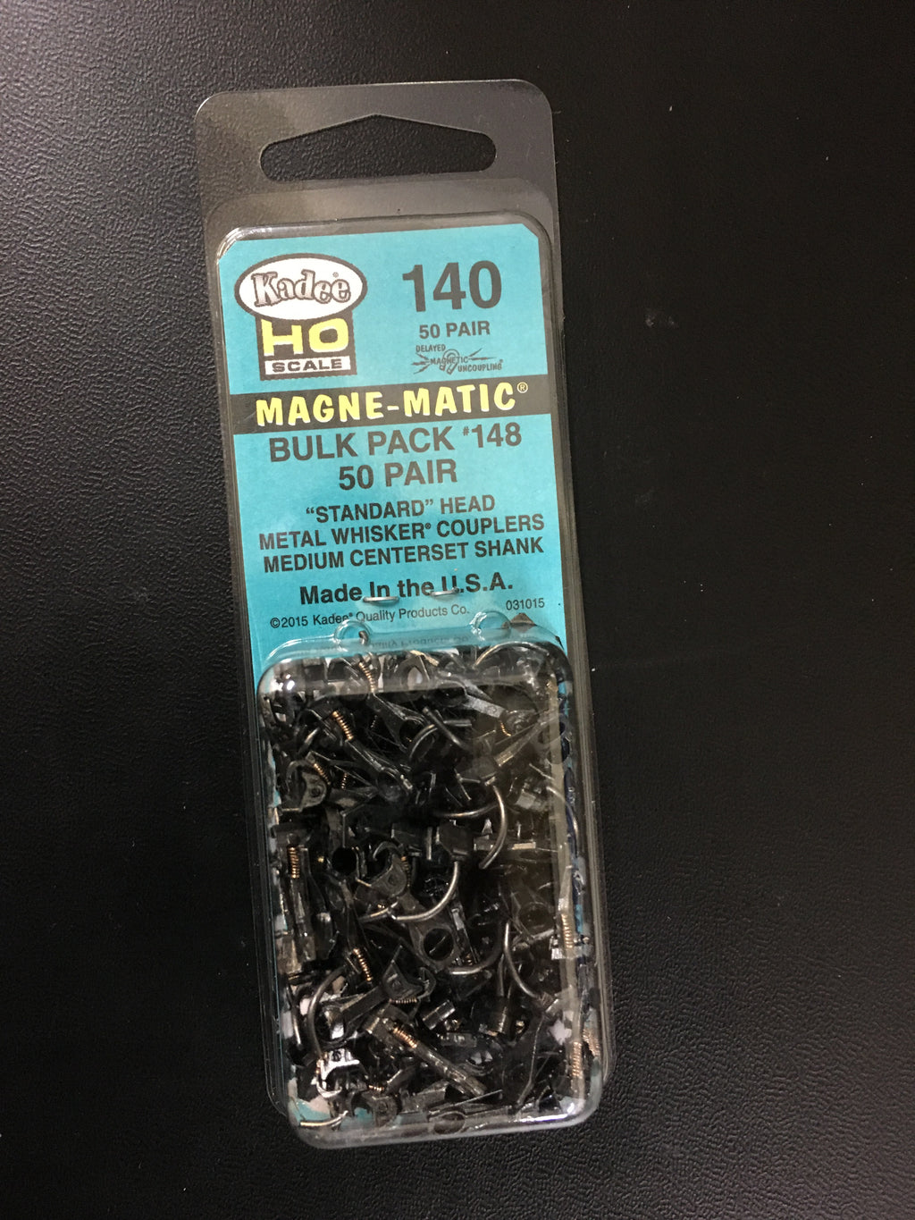 # 140 bulk Pk 50 pair of No148 whisker couplers (no box's)