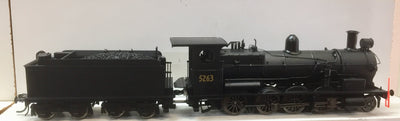 5263 Eureka Models D50 Class S/Heated Steam Locomotive Black 5263 North British with DCC SOUND of the NSWGR