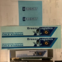 "SK161 Container Decal ""Breeze Logistics"" 40ft / i Freight 20ft Container"