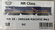 ALL NEW TOOLING Indian Pacific NR25 Mk1 LOCOMOTIVE BY SDS MODELS DC POWERED MODEL. #NR316