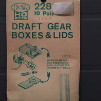 # 228 Metal Draft Gear Box for #4